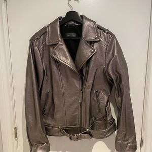 Mackage Copper Leather Jacket